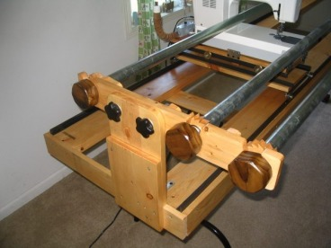 Build Your Own Machine Quilting Frame - Home : homemade quilting frame - Adamdwight.com